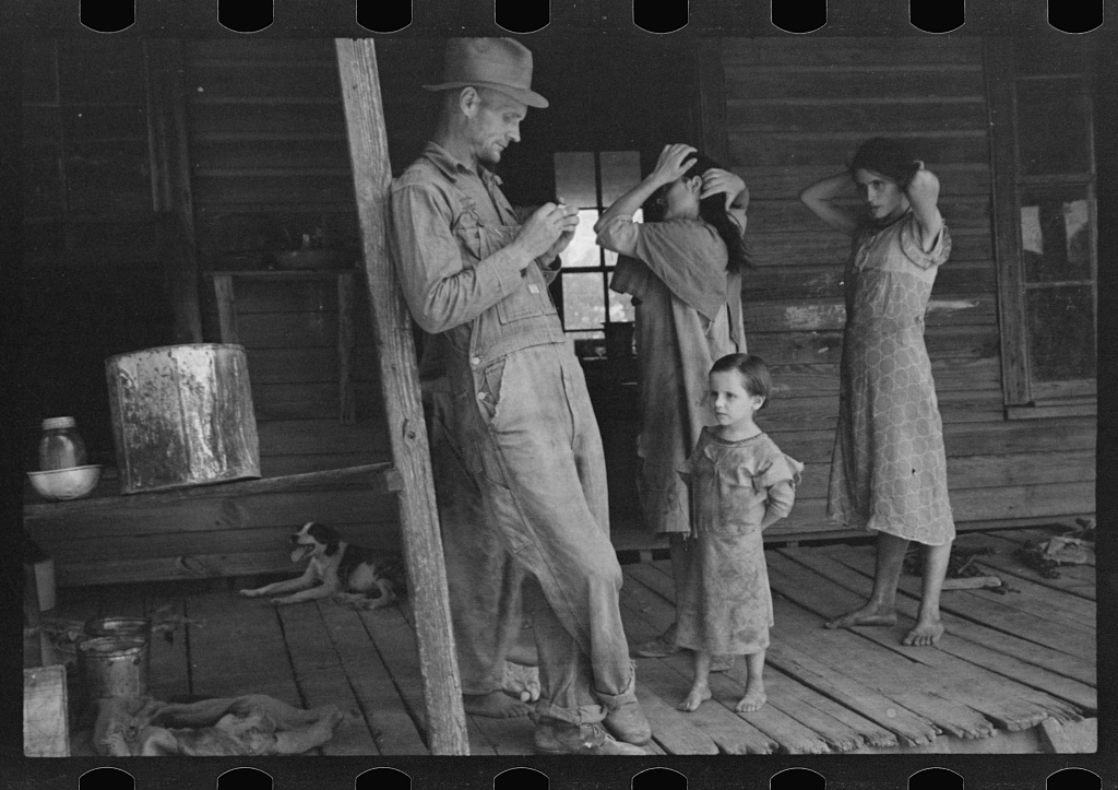 Walker Evans,  Floyd Burroughs, Jr., Hale County, Alabama  (1936)