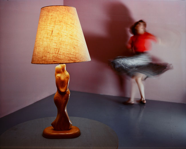Jo Ann Callis,  Woman Twirling , 1985