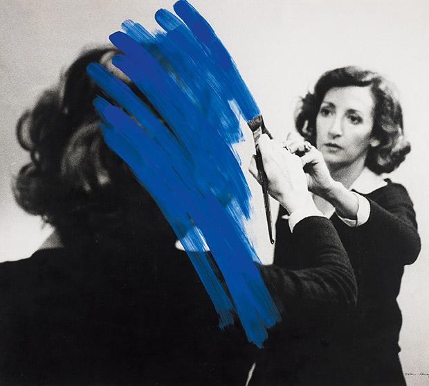 Inhabited Painting (1975) by Helen Almedia