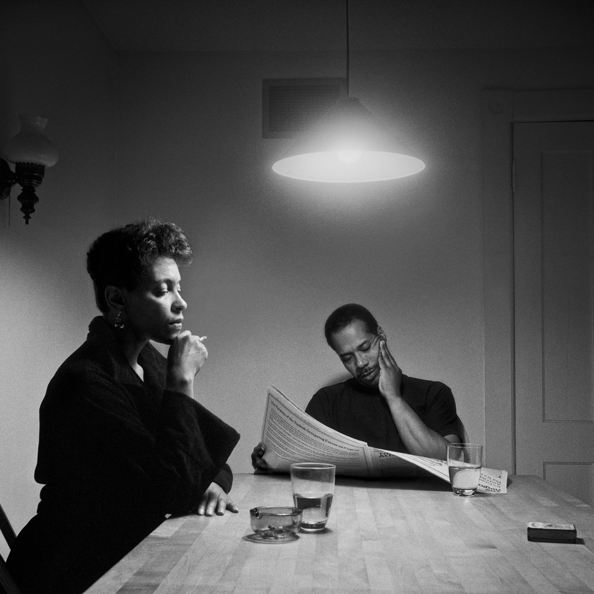 "Carrie Mae Weems, Untitled, from ""The Kitchen Table Series"" (1990)"