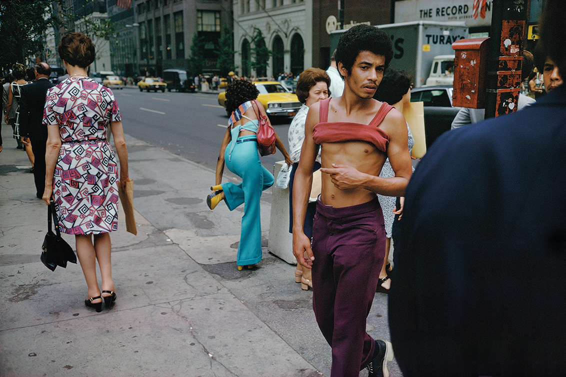 Joel Meyerowitz, New York City, 1960's