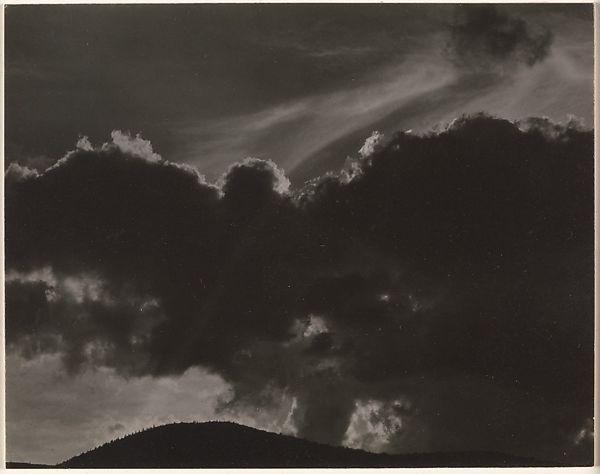 Alfred Stieglitz,  Equivalent  (1924)