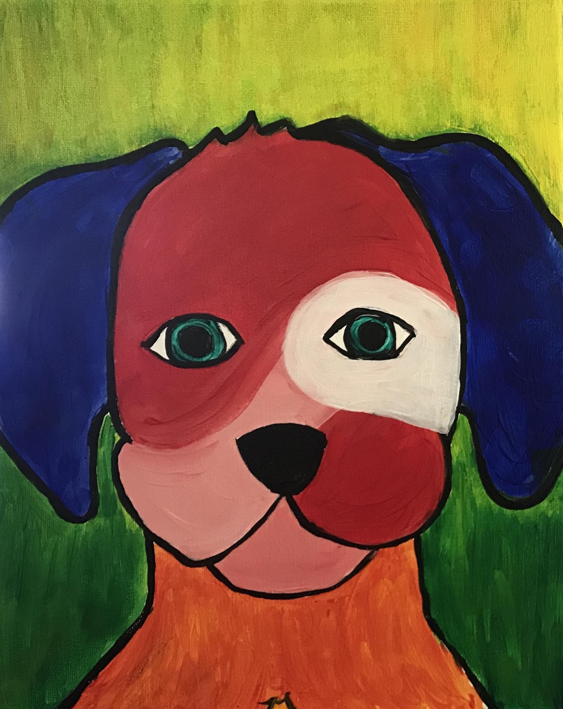 Pop Art Dog - Style 1