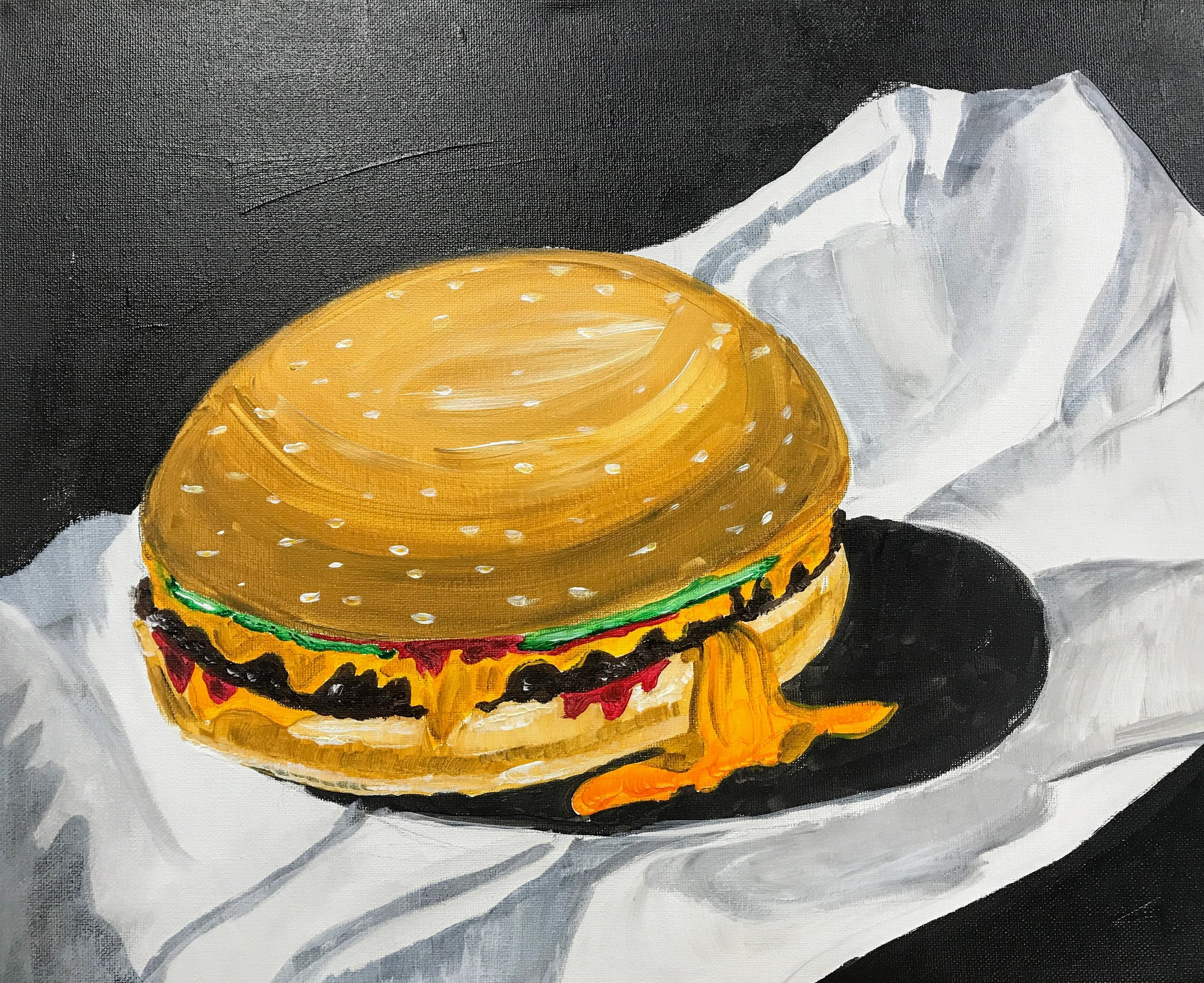 Melty Cheeseburger