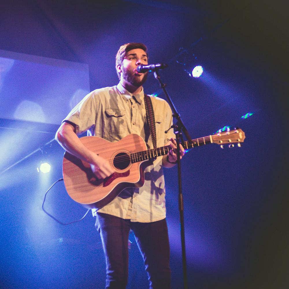 Jordan Collins  |  Worship Leader