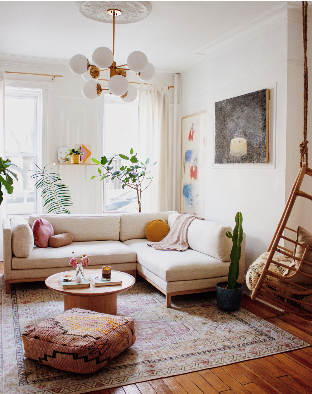 Greenpoint Gem - An airy bohemian classic brick townhouse in Brooklyn, NY.