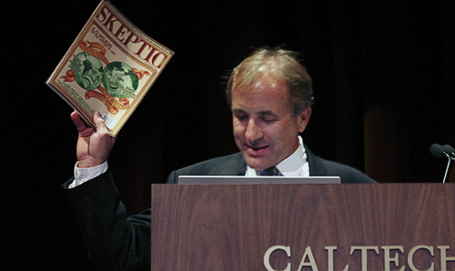 Dr. Michael Shermer, Founder of  the Skeptics Society and Publisher of Skeptic Magazine.