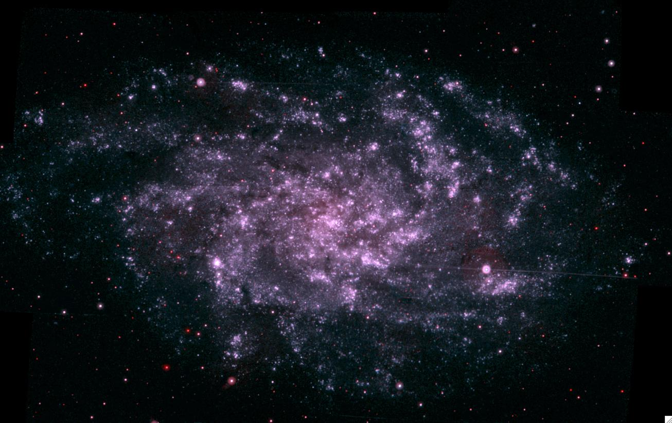 The Triangulum galaxy is a metaphor for the network-dominant society model of Open Source Government.