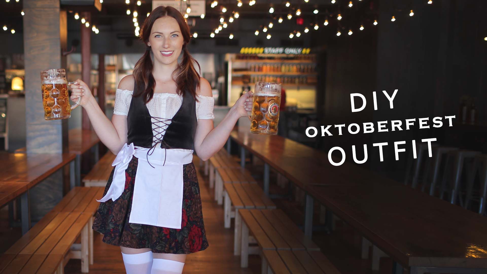 2a6000c2848 DIY OKTOBERFEST DRESS — The Sorry Girls