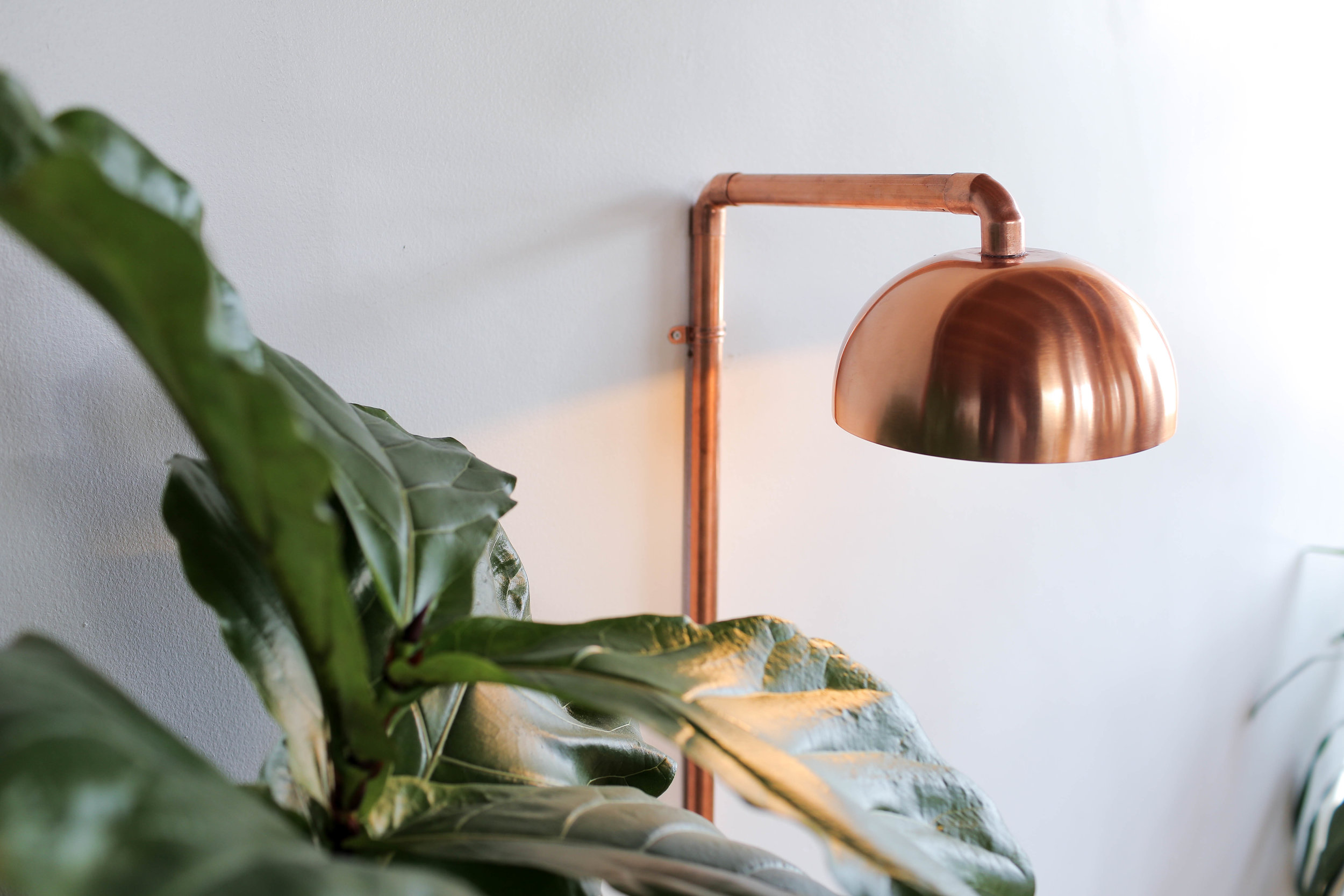Copper Wall Sconce The Sorry Girls