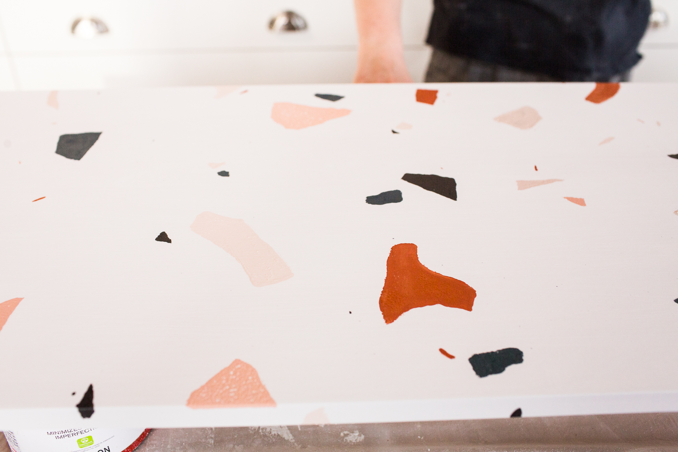 Diy Faux Terrazzo Table The Sorry Girls