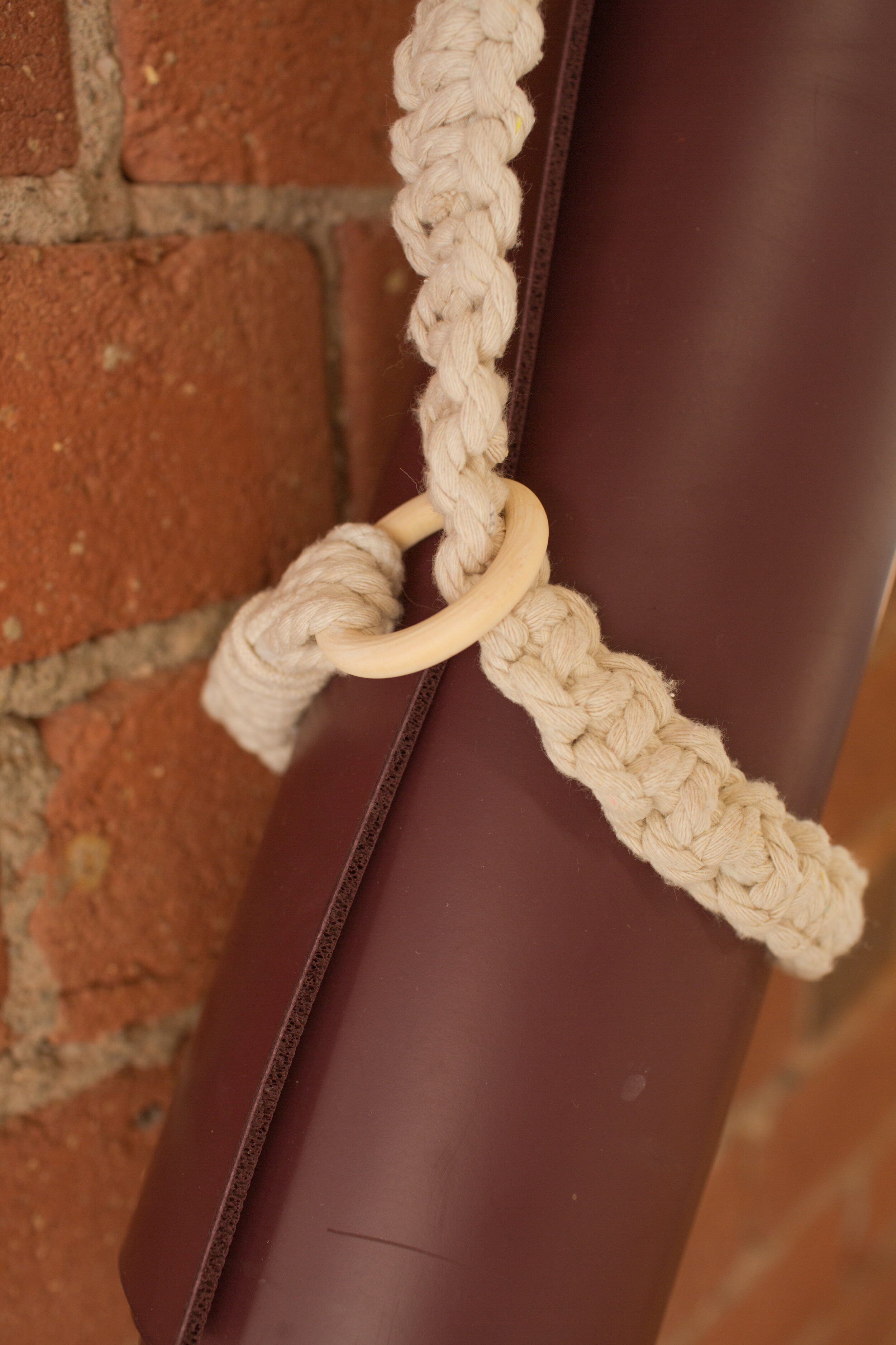 Make Your Own Yoga Mat Strap The Sorry Girls