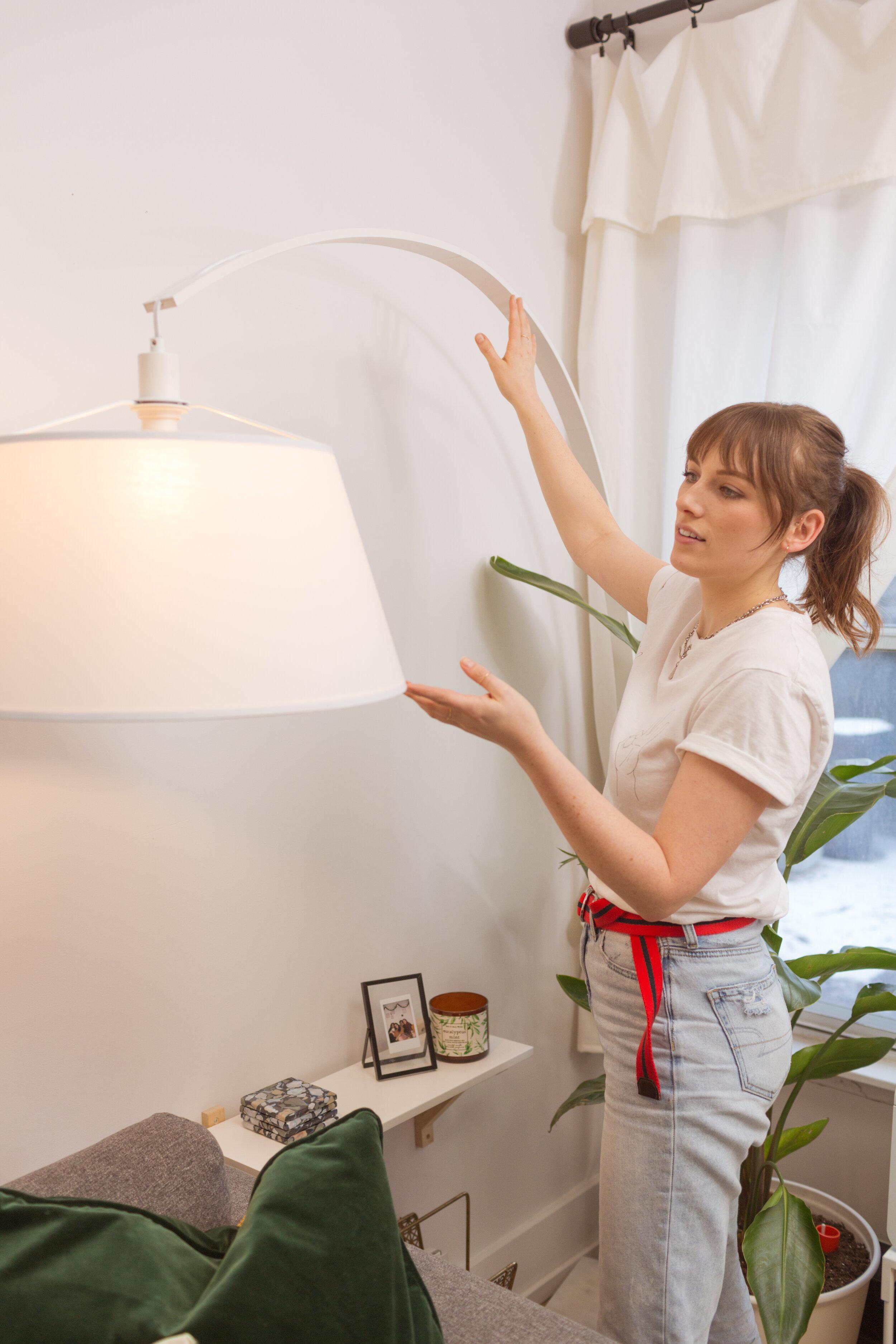 Simple Living Room Turned Cozy Scandinavian Dream Makeover