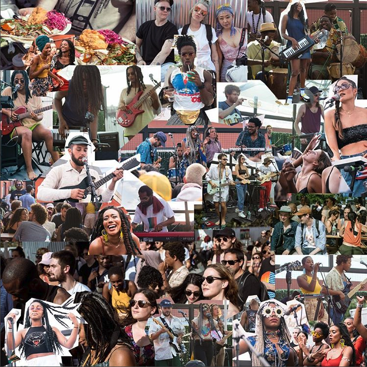 cookout 2017 collage