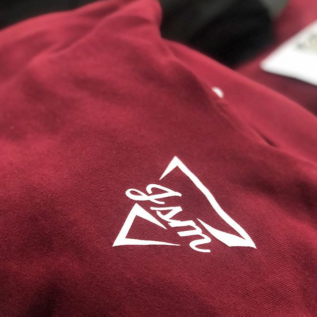 Just finished up a batch of these super soft @bellacanvas hoodies for @journey_oc's Student Ministry 🤘🏼 We did this clean one color print on tees, hoodies, and crewneck sweaters! Somethin for everyone.