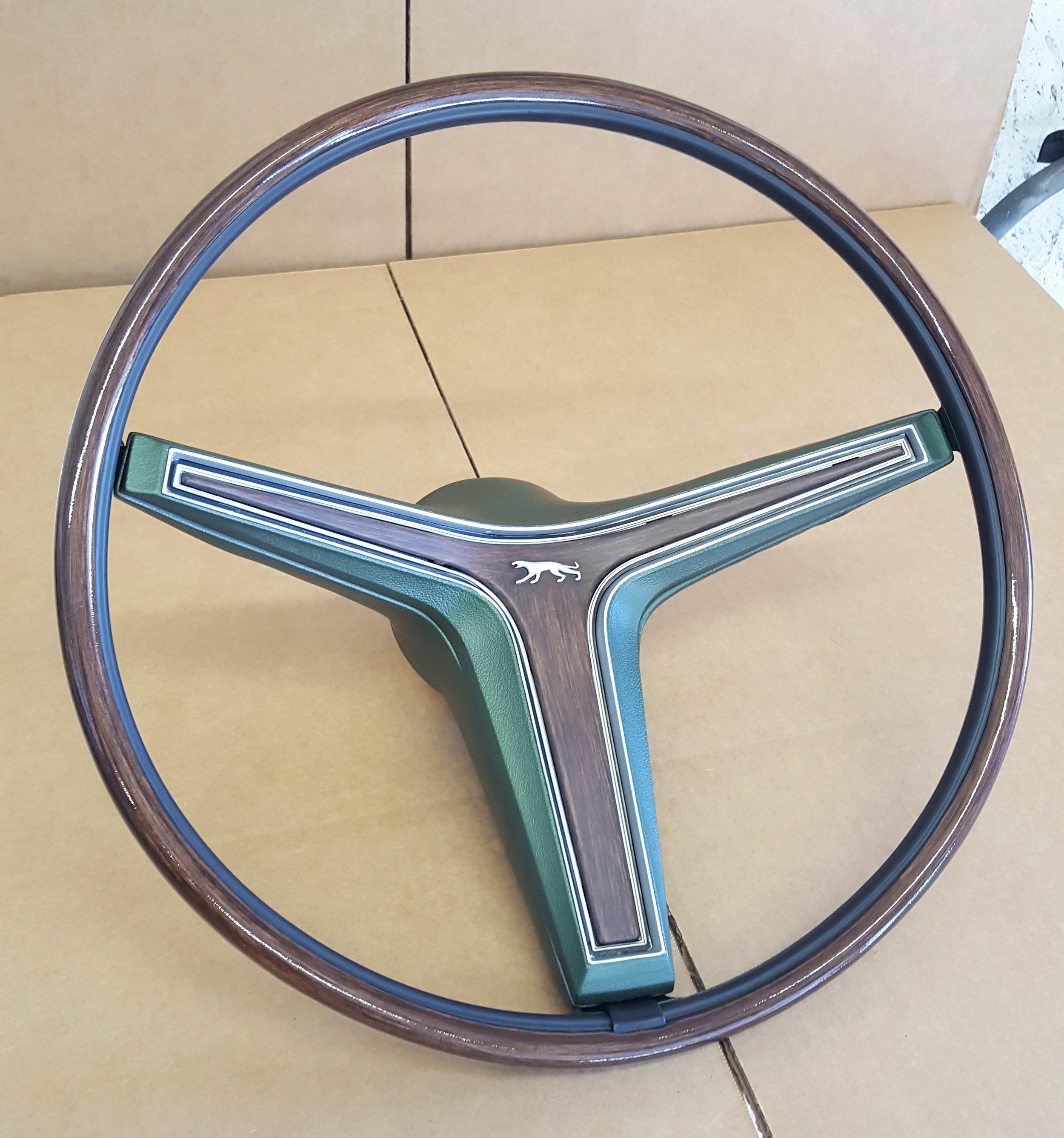 1970 Cougar rim blow steering wheel