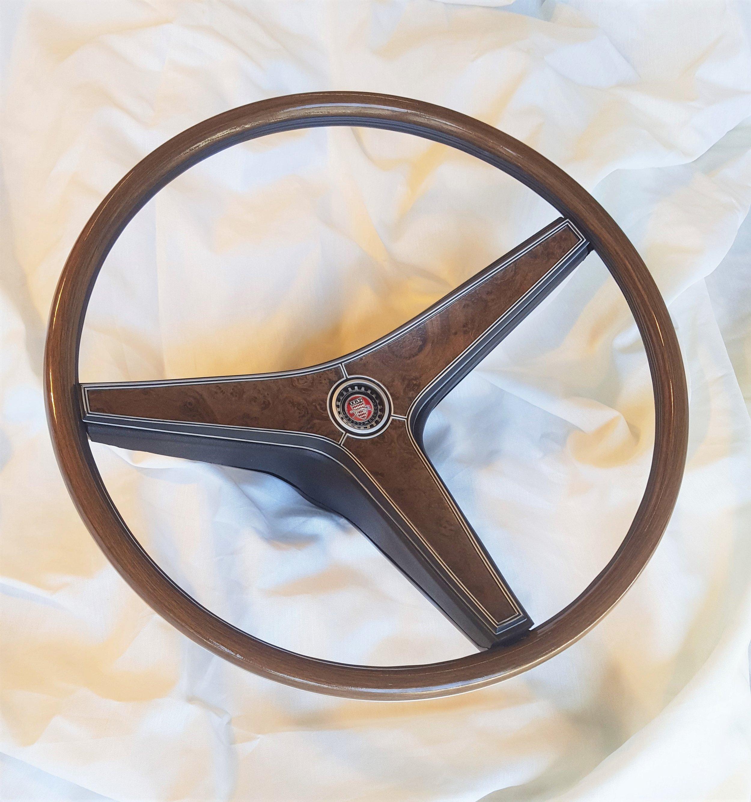 1969 Cougar XR7 rim blow steering wheel