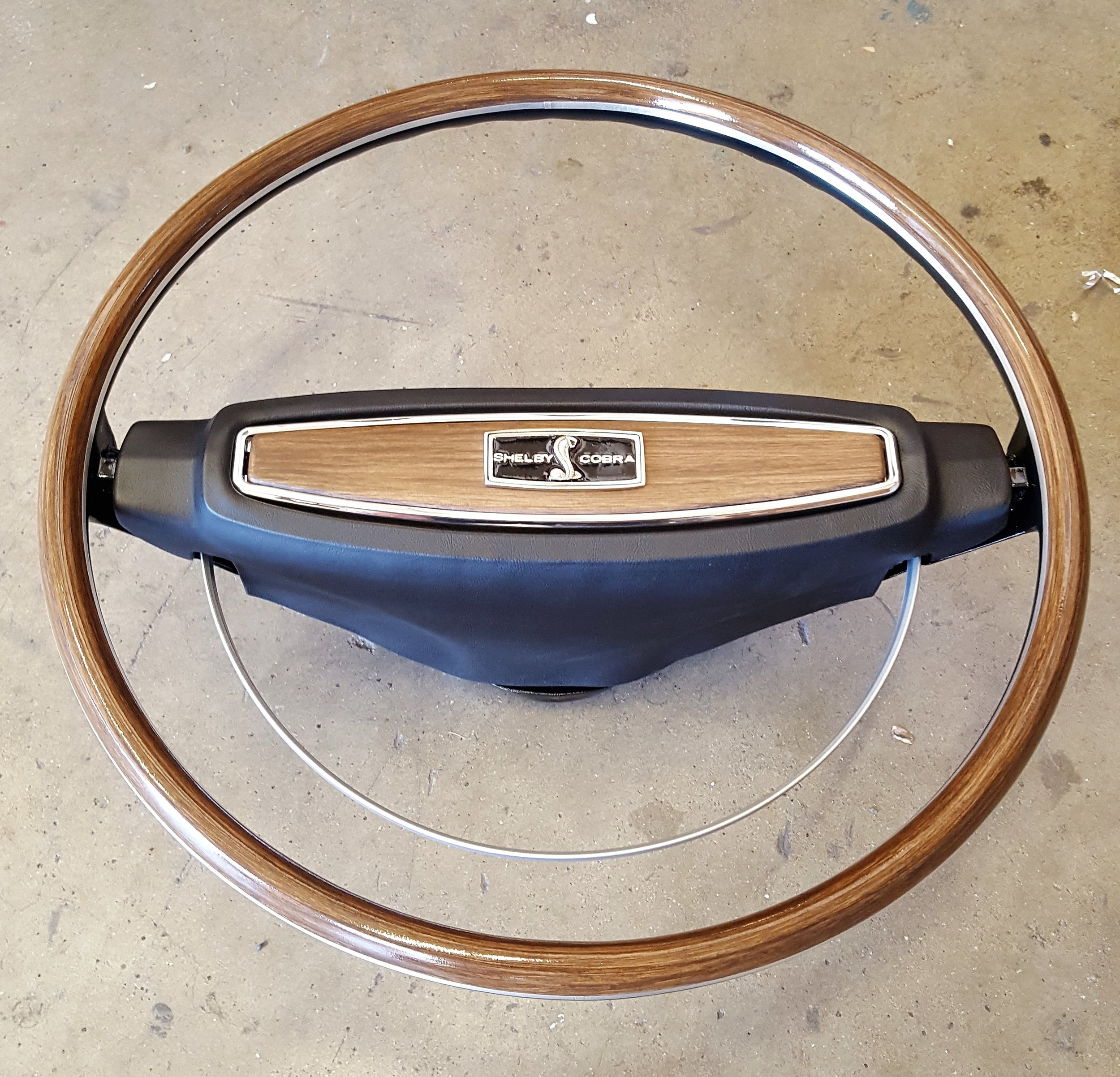 1968 Shelby deluxe steering wheel
