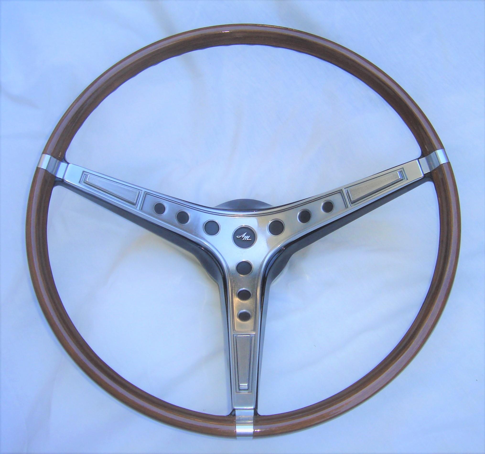 1969 AMC AMX steering wheel