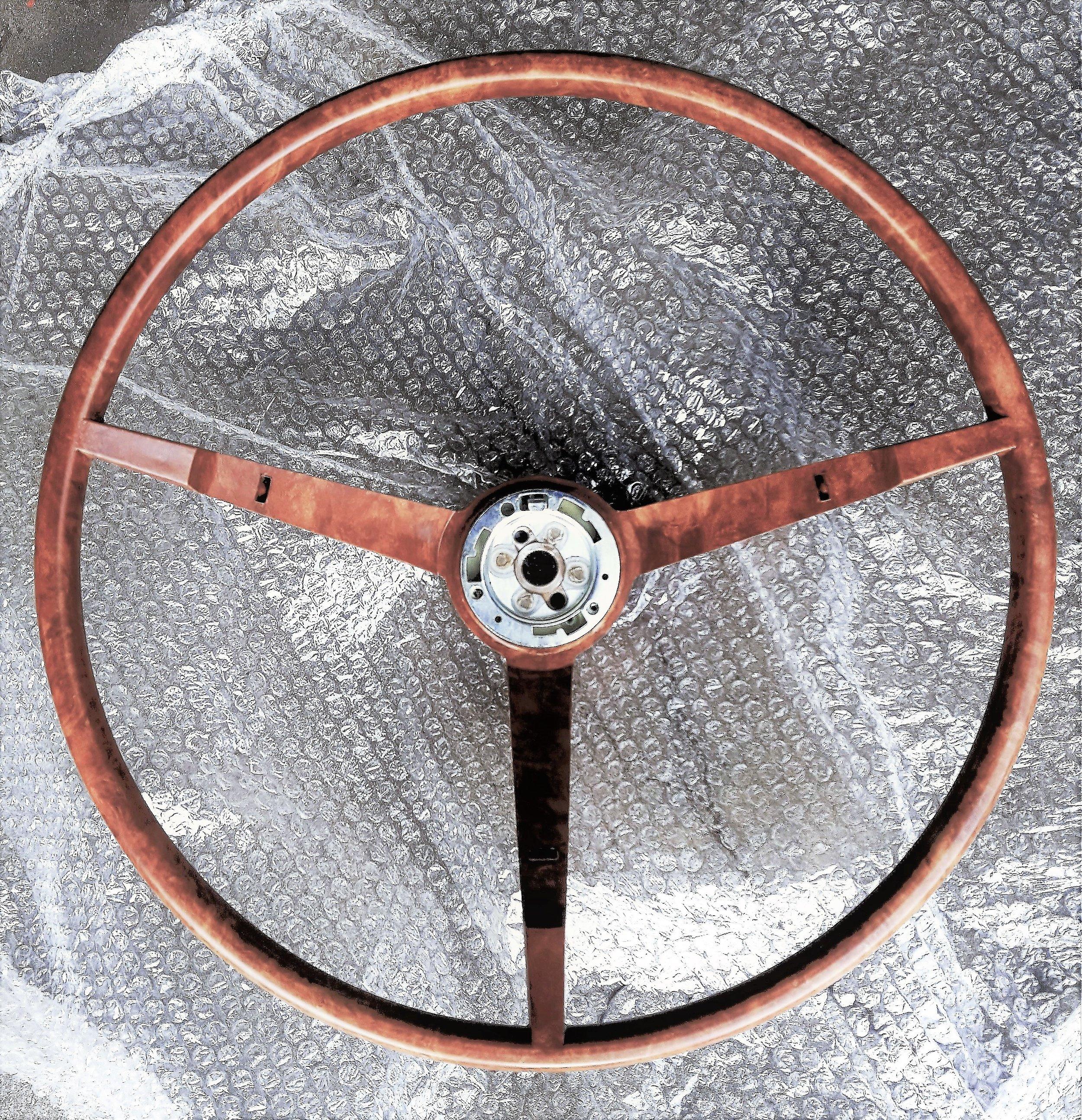 1963-64 Falcon Sprint deluxe steering wheel