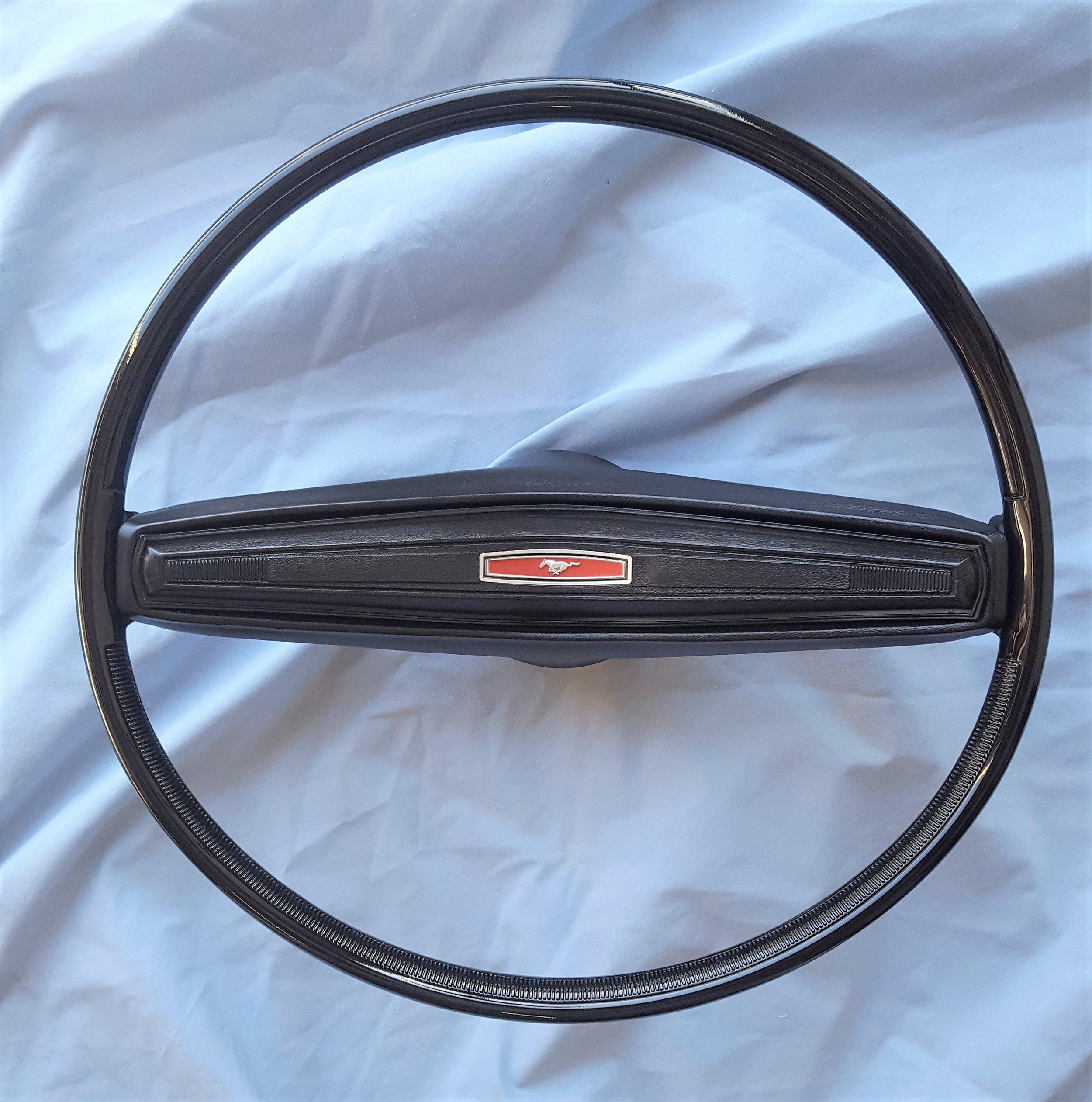 1970 Mustang 2 spoke steering wheel