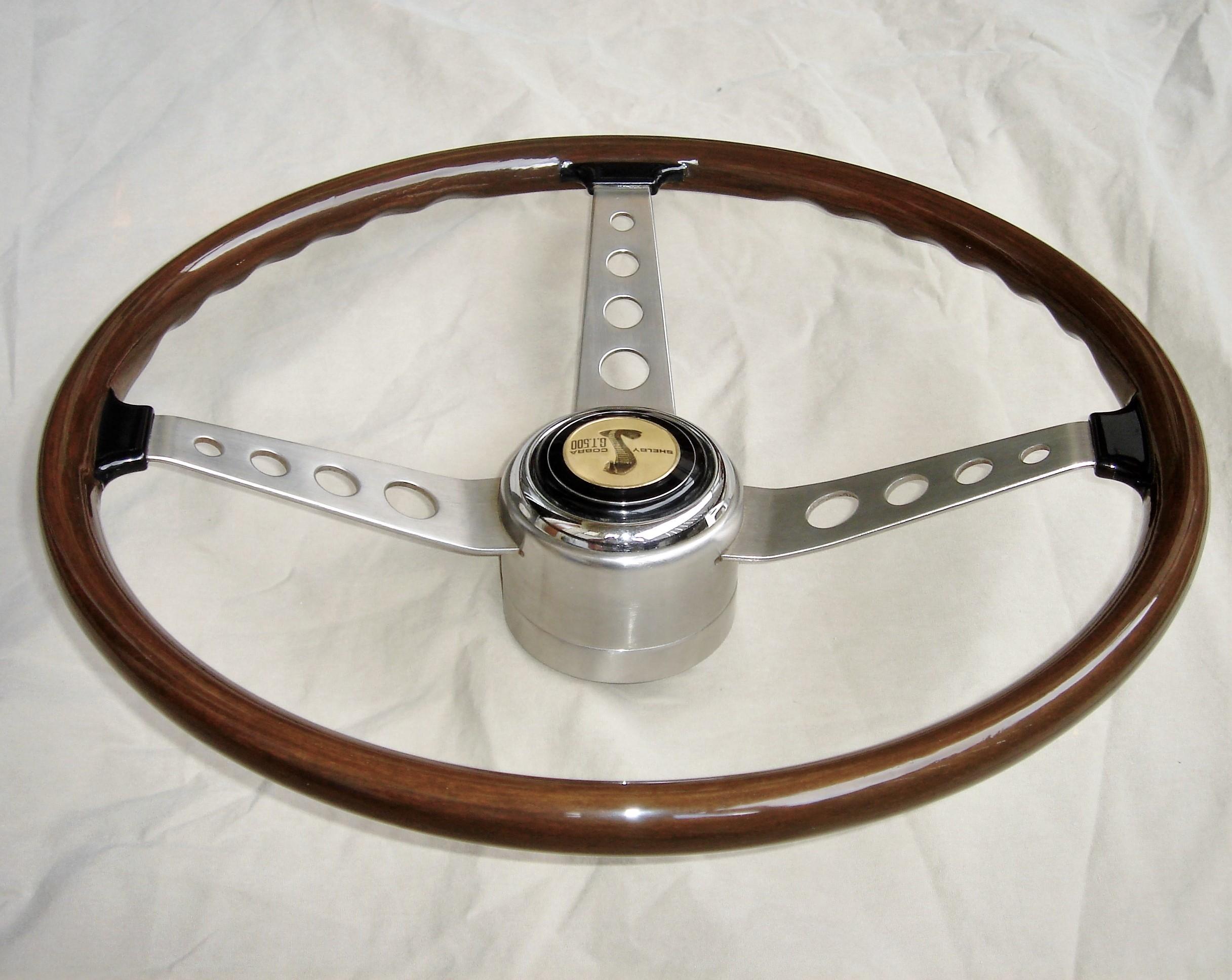 1967 Shelby wooden steering wheel
