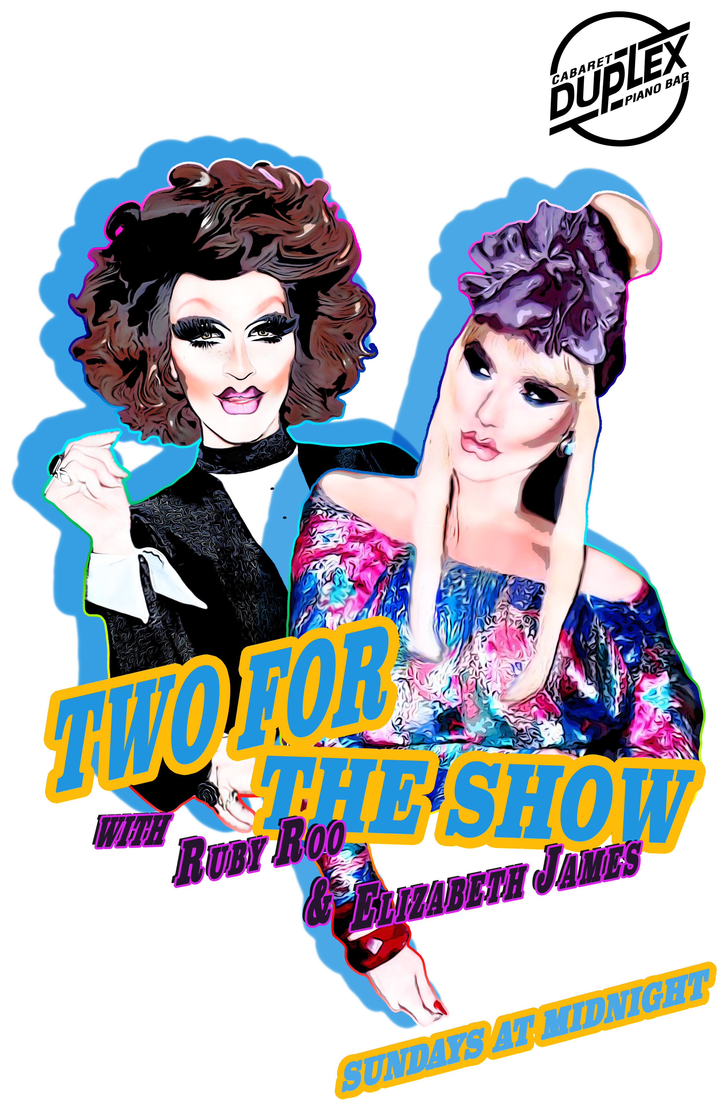 TWO FOR THE SHOW WITH RUBY ROO AND ELIZABETH JAMES.jpg