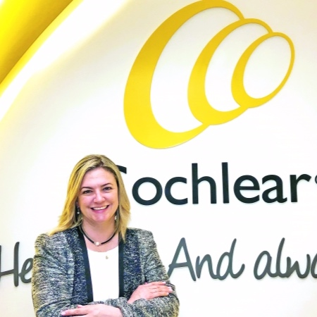 Paola Delgado  General Manager, Cochlear Colombia