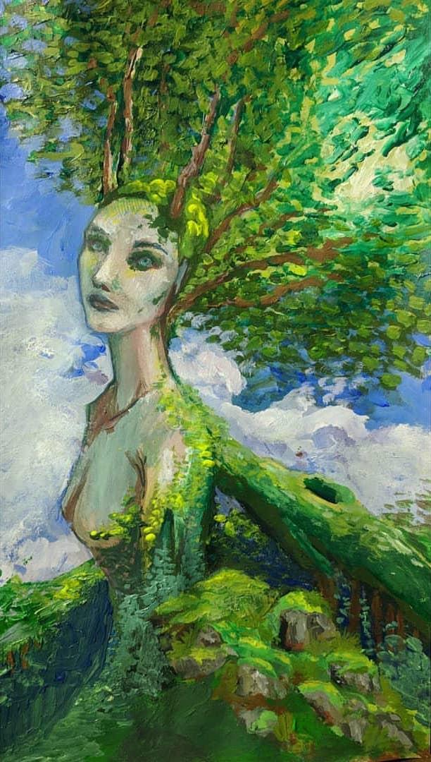 Artwork by Yvonne Hanson