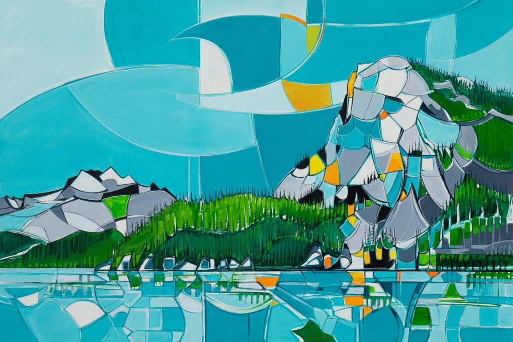 """Artwork: """"Squamish"""" by Andy Anissimoff"""