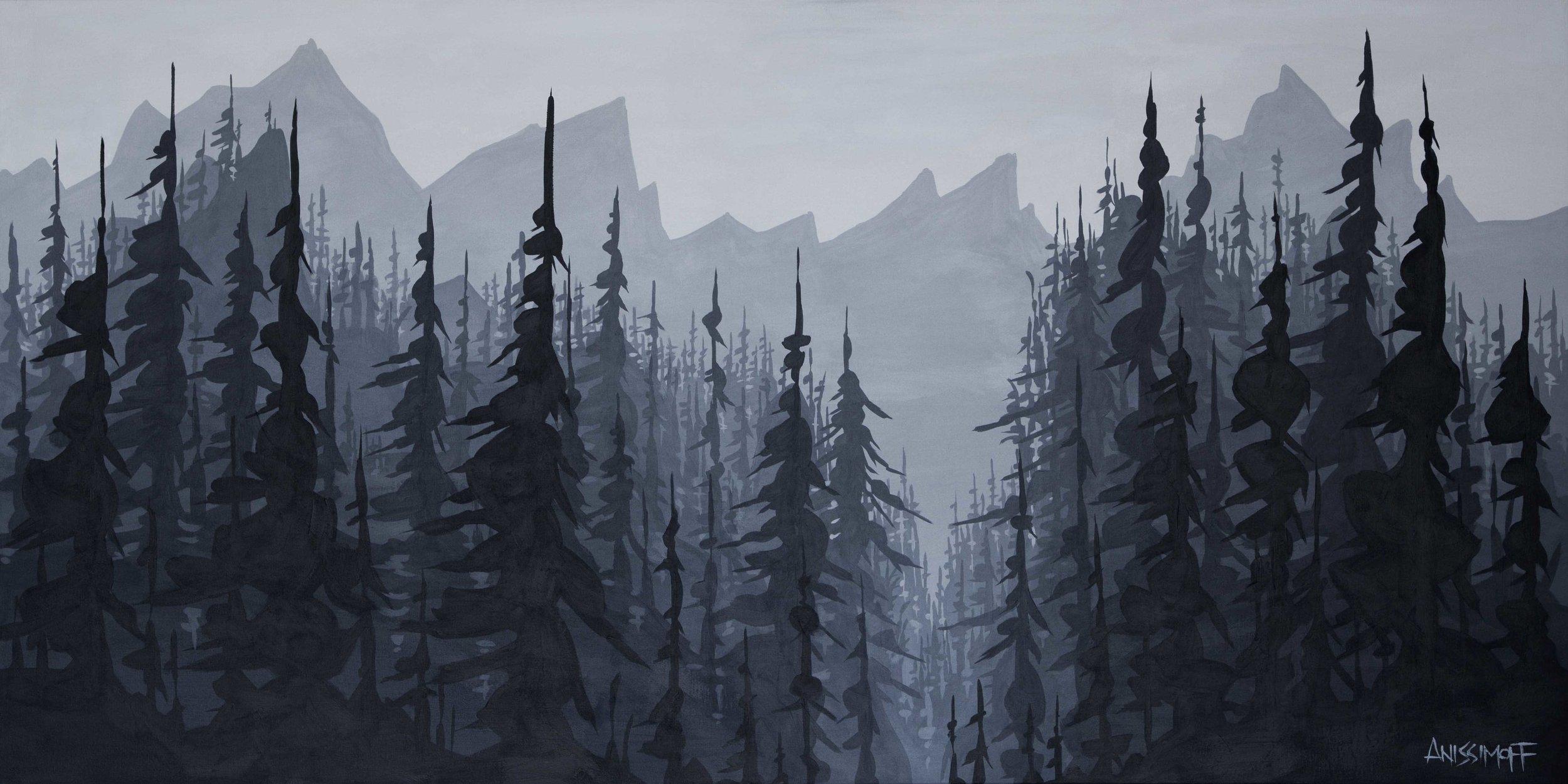 "Artwork: Andy Anissimoff ""Peak to Creek"""