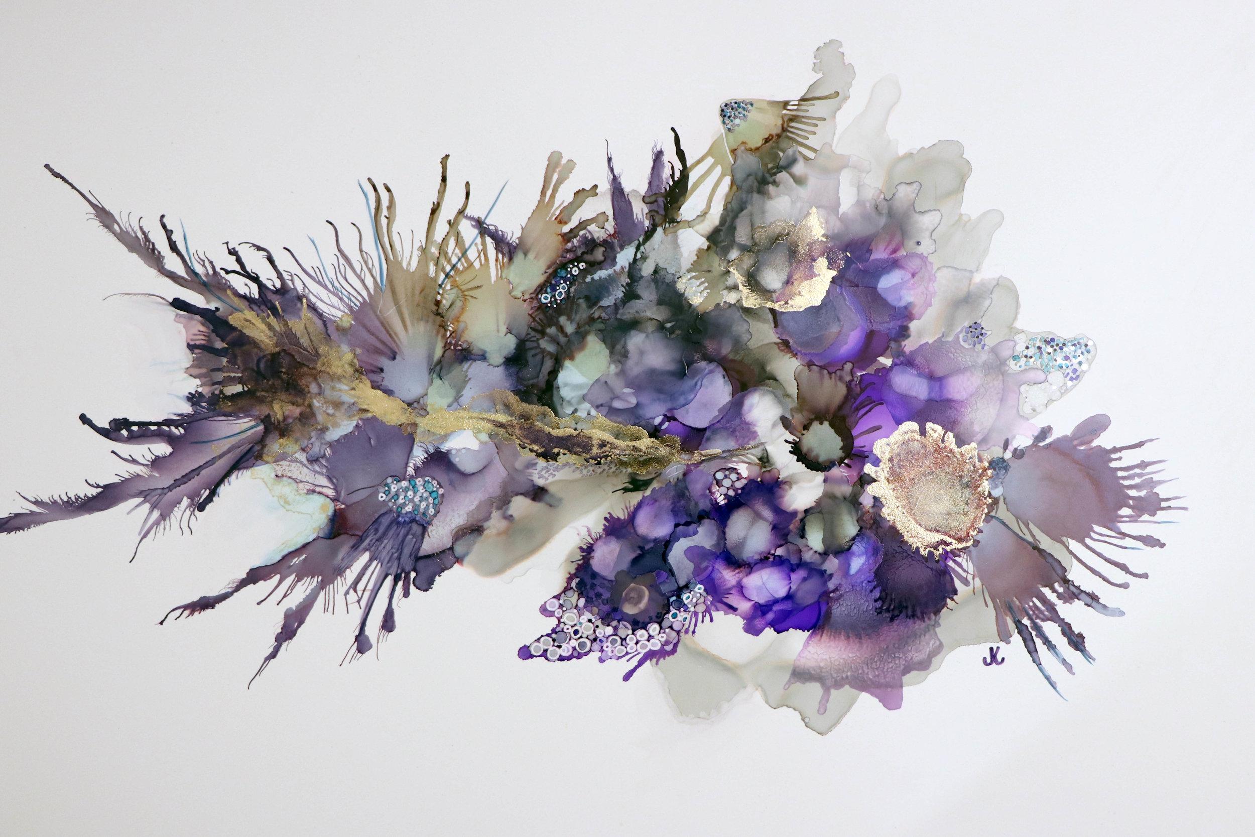 Artwork: 'Transcendence' by Janet Kvammen
