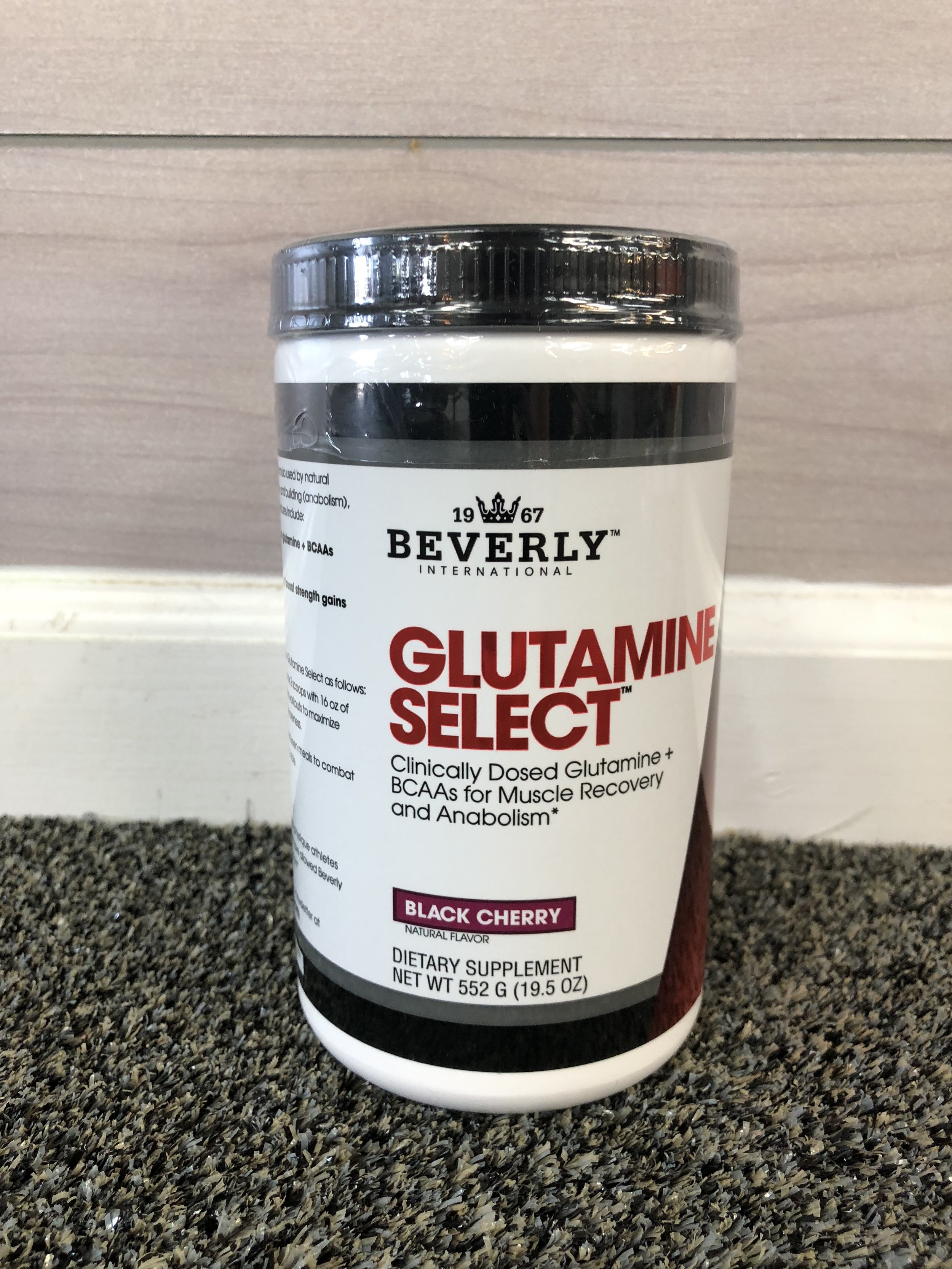 Glutamine Select - Glutamine is a holy grail for your trainers. Not only does it taste like a yummy cherry juice when you mix it with water, but it also helps in recovery! Meaning no matter how hard we workout or heavy we lift, we are never too sore to workout again tomorrow!