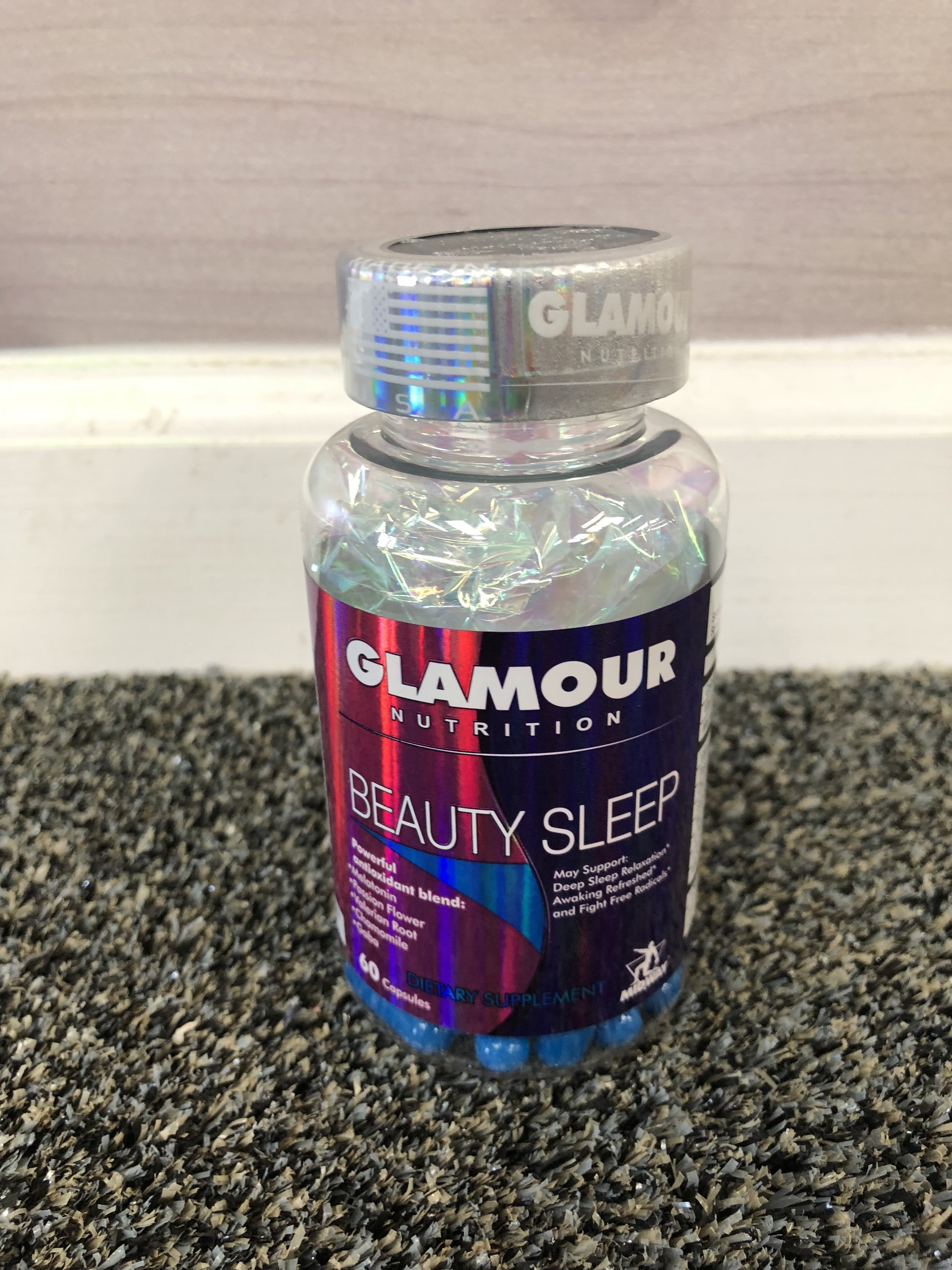 Beauty Sleep - This is a must have according to trainers Rick and Jess. This is so much more than your average melatonin. It helps calm your mind before bed and keep you in REM sleep during the night. Not to mention it doesen't cause nightmares or morning groggyness like other sleep aids. It's all natural so there is no need to worry about getting addicted. Although, we are obsessed.