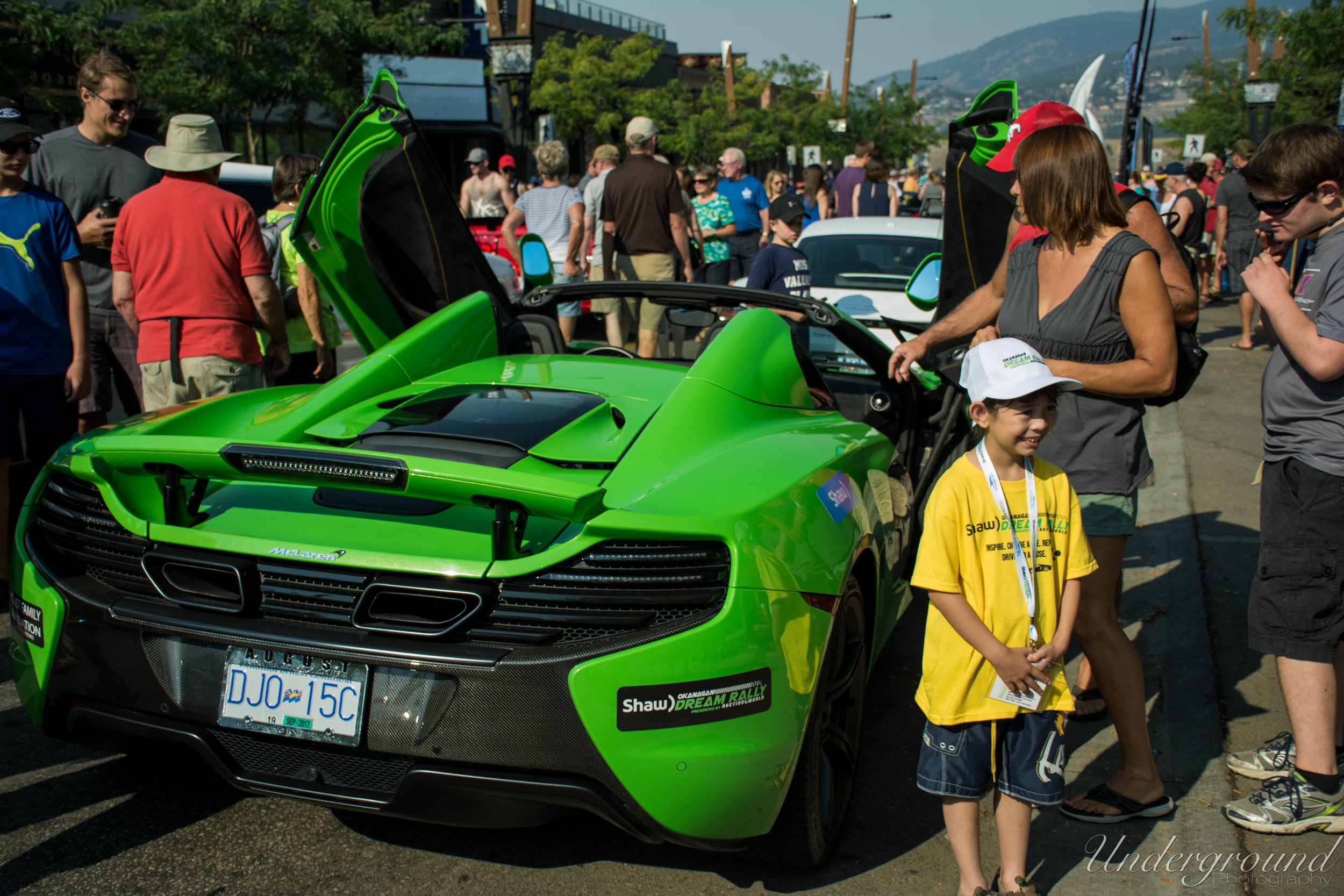 In the early stages of the event I noticed two major themes among the kids, both of which I found to be equally incredible. The first being the kid's faces when they saw the cars they were about the co-pilot. They literally lit up.