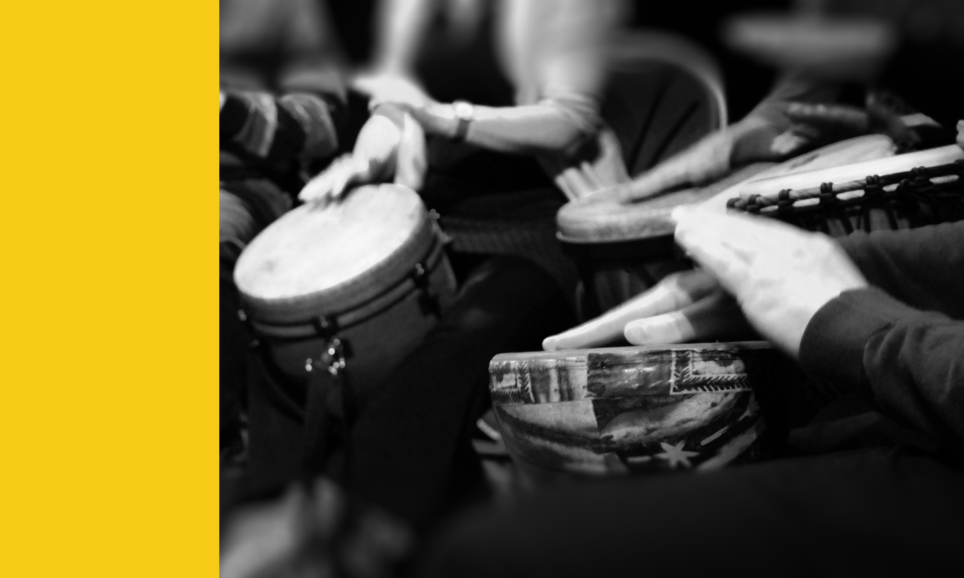 Bespoke Drumming Workshops - For Social Wellbeing, Clinical Health &Community