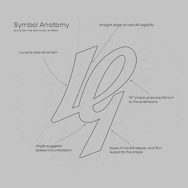 It's very hard to achieve simplicity. Symbols are the maximum expression of simplicity. A symbol can represent thousands of concepts as a singular image. Here some of the notes taken when we developed the logogram or symbol for our brand. -  #brand #symbols #e49creativeco #designer #logodesign #branding #branddesign #markmaker #creativeservices
