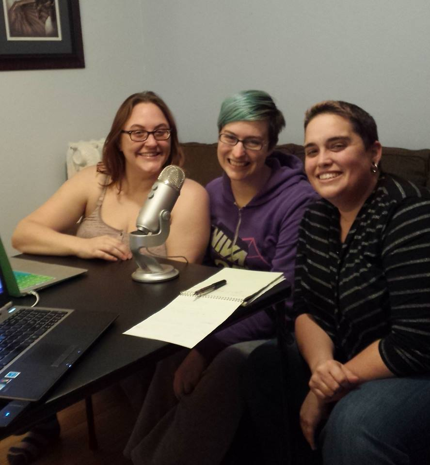 About Us - Who are we? Just three random bitches in a basement with lots of opinions.