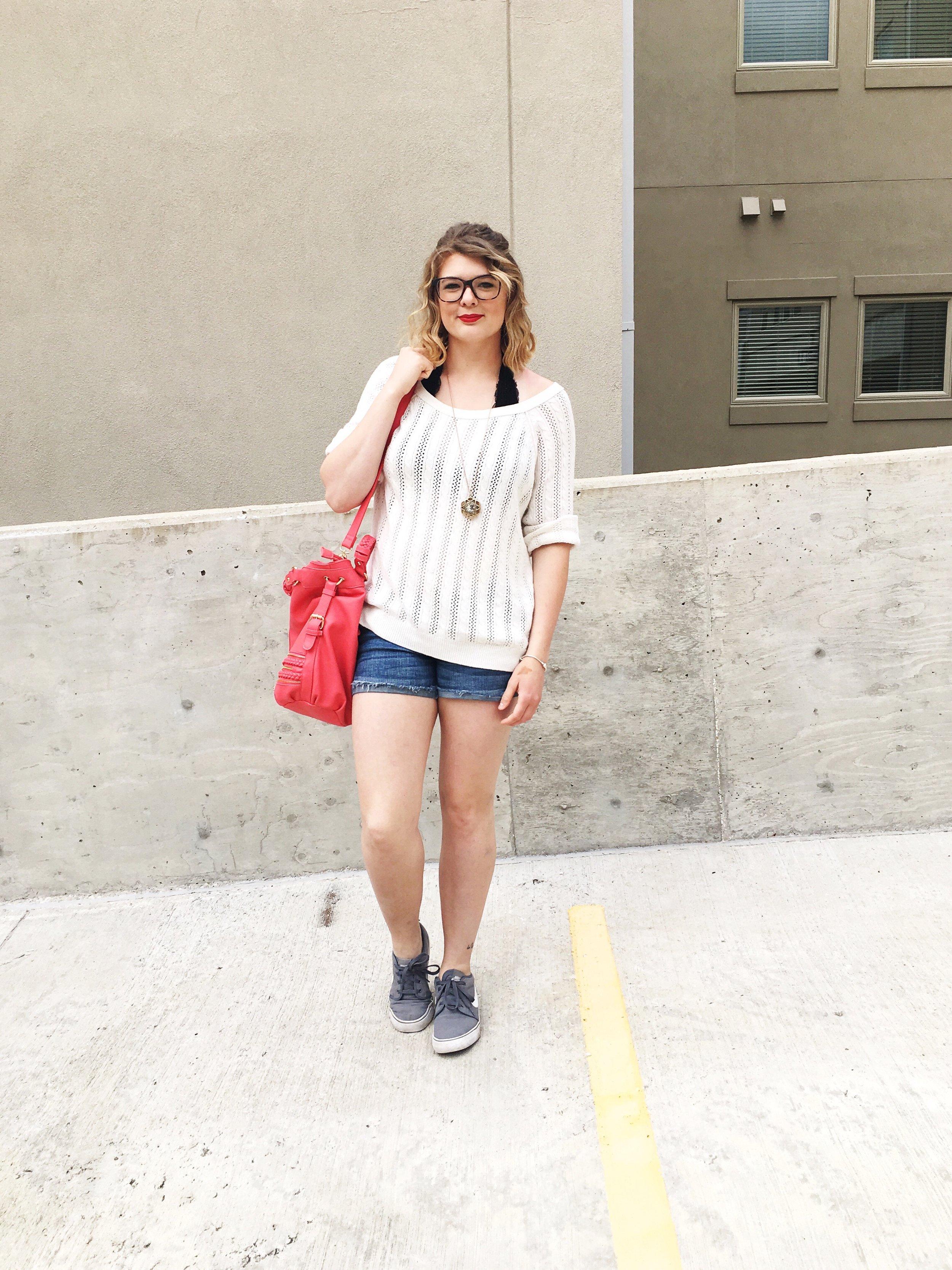 shortsandsweater
