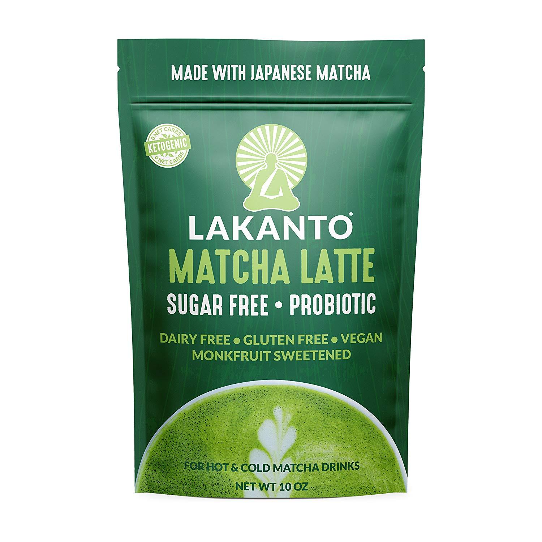 Lakanto Matcha Latte -
