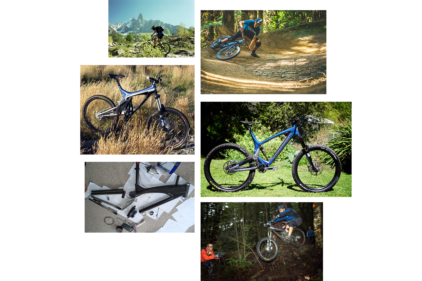 The history behind the bikes