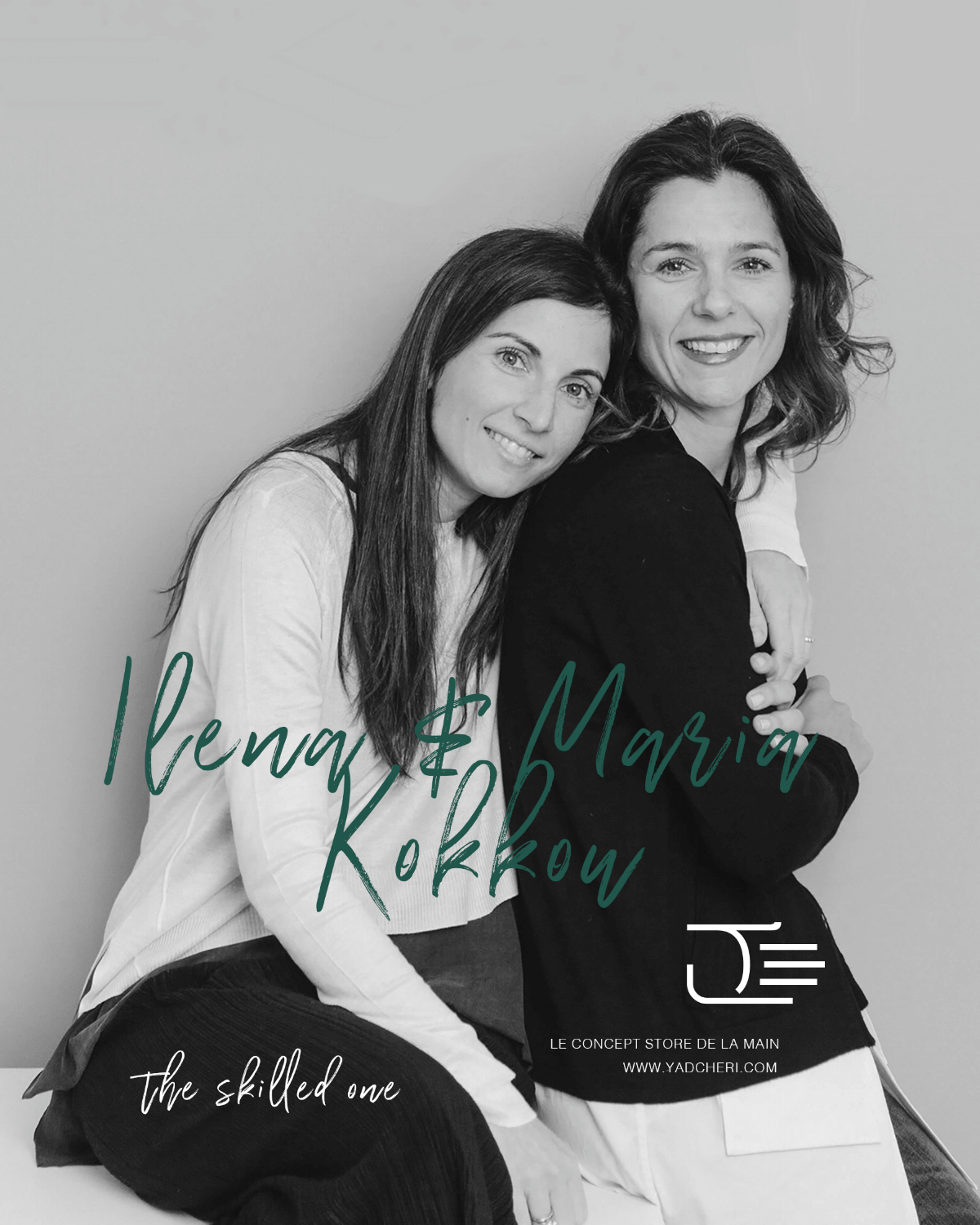Siblings share an inextricable, one-of-a-kind bond. They are close yet different, sometimes they can even read each other's mins. Ilena & Maria Kokkou are the perfect example of this sisterly chemistry.