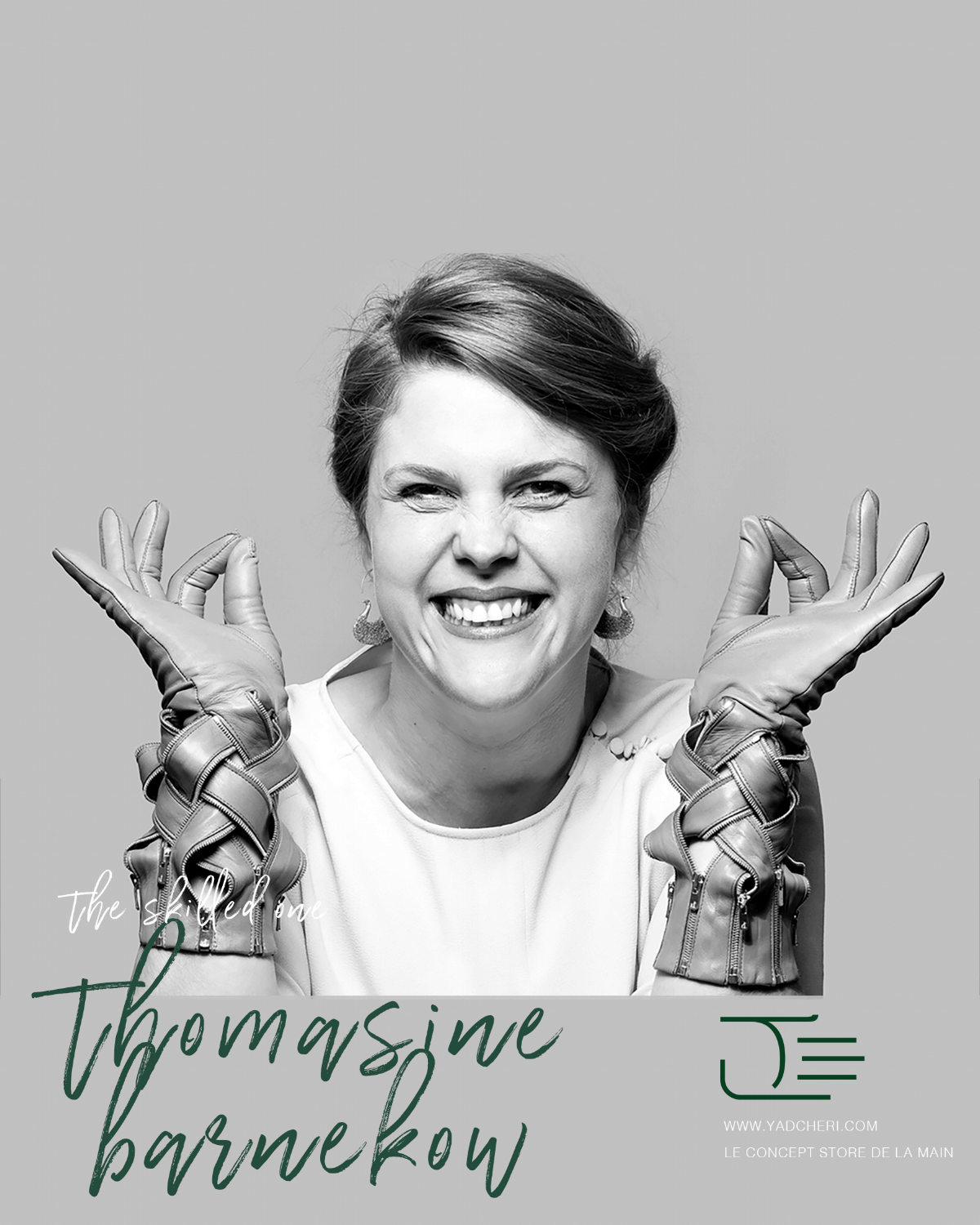 An adventurous spirit and a creative mind would be how to define Thomasine Barnekow. Born in Sweden, she later graduated from the Design Academy.