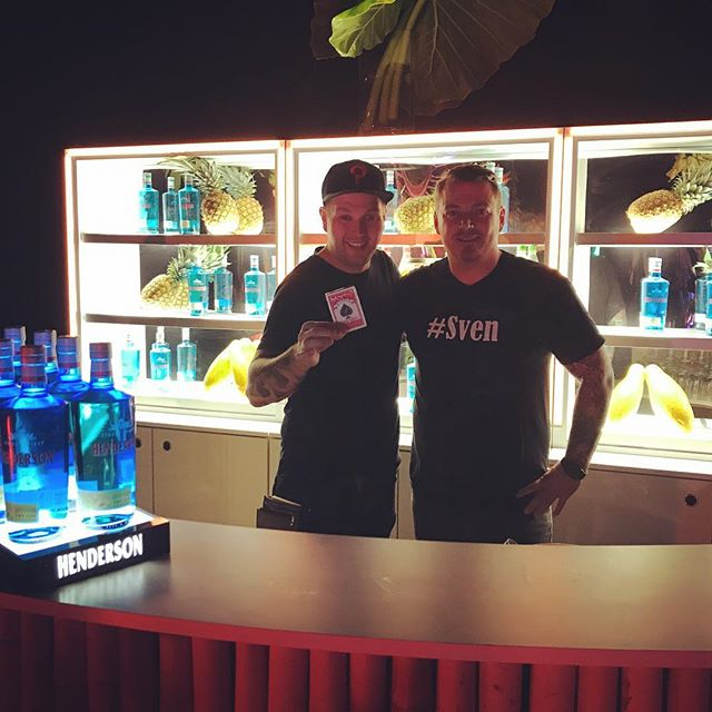 #magic #edeka #sven #gintonic nice event for Edeka #berlin
