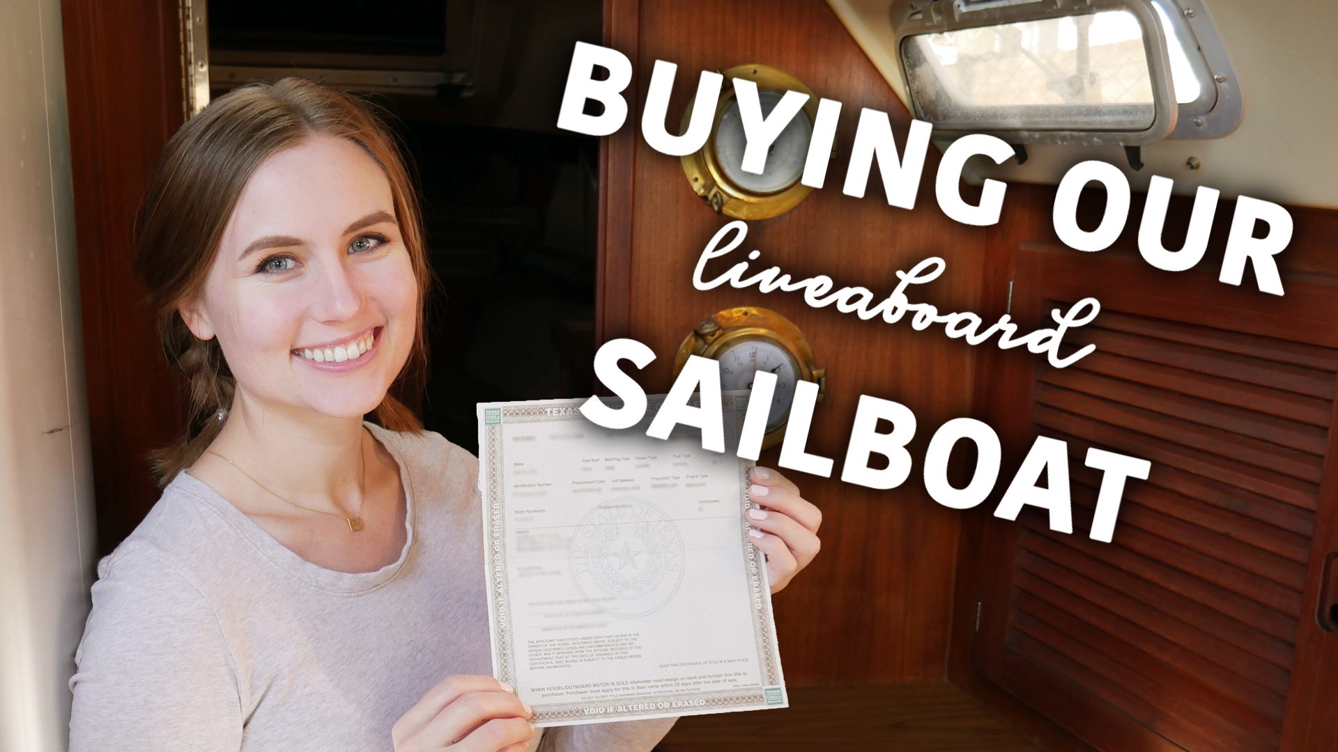 Buying Our Liveaboard Sailboat-ShaggySeas
