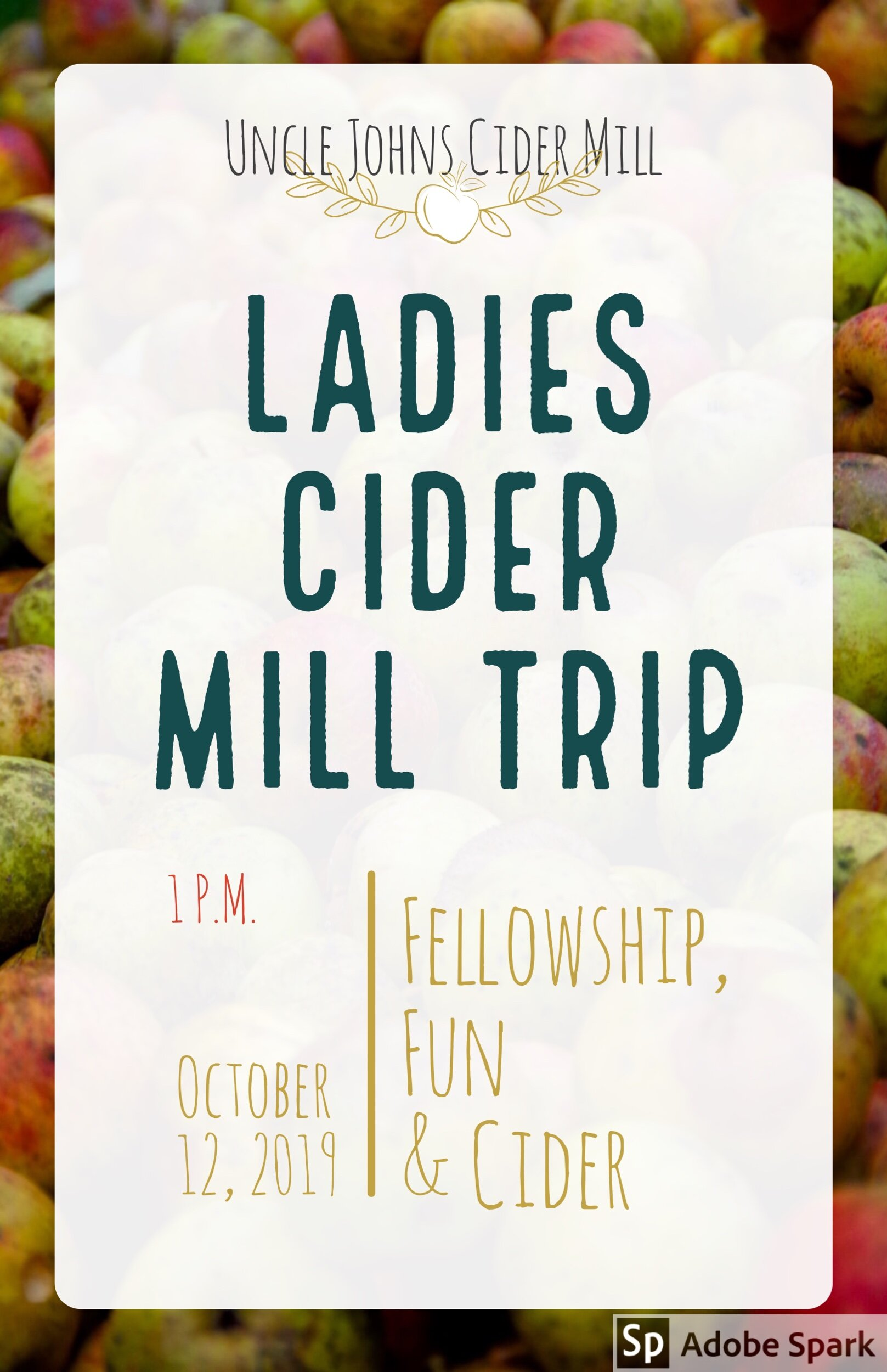 Ladies JOIN IS FOR A FUN Day!