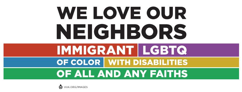 we love our neighbors