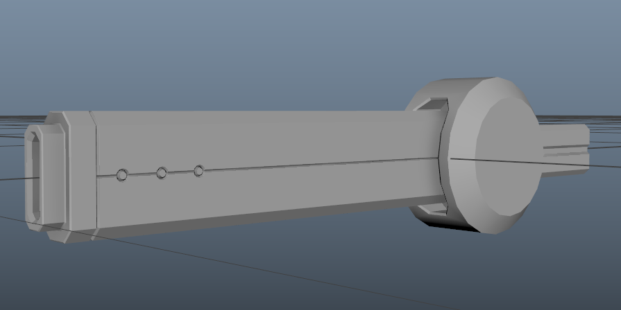 The barrel of any railgun is the easiest thing to do. Figuring what the rest of it looks like is harder
