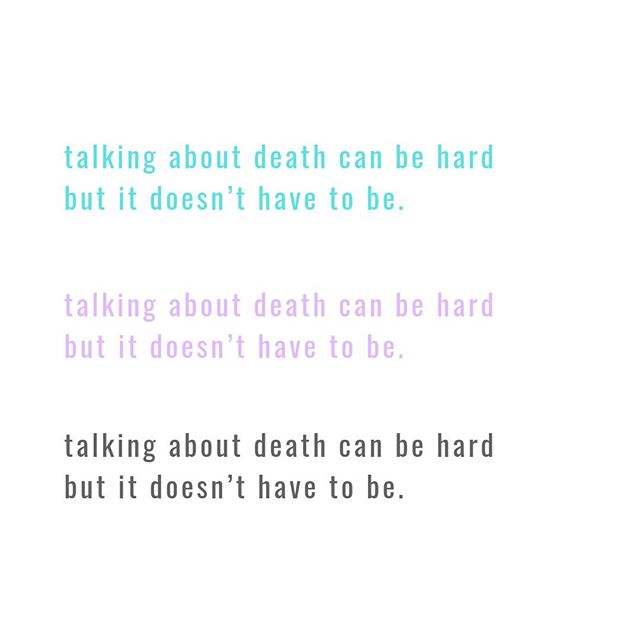 "We have a lot of reasons for avoiding conversations about death.⁣ ⁣ ""They're scary.""⁣ ⁣ ""They're uncomfortable.""⁣ ⁣ ""They're messy.""⁣ ⁣ ""They're sad.""⁣ ⁣ ""They're depressing.""⁣ ⁣ But if we just tell ourselves that they CAN be all of those things, but doesn't have to be, we might be more inclined to just ~try~. ⁣ ⁣ And if we tell ourselves that they CAN be all of those things ""...and that's okay!"" we might find ourselves settling into them without fear.⁣ ⁣ #grief #griefishardaf #griefsucks #griefquotes #alicaforneret #deadmomsclub"