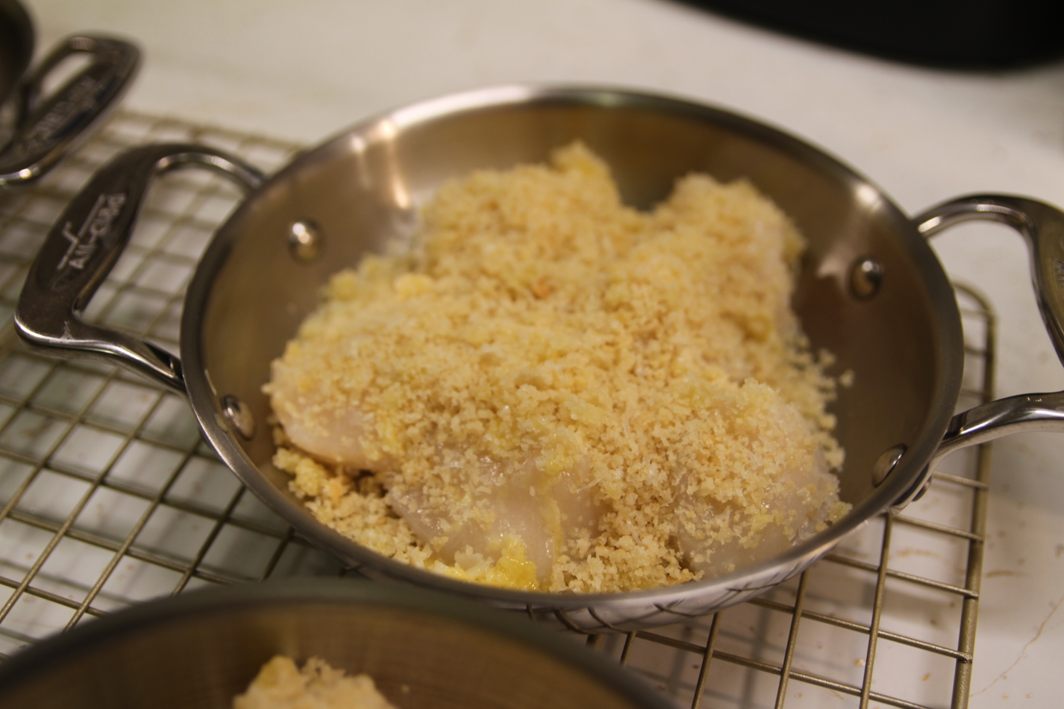Even more Panko topping.